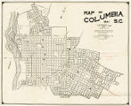 Map of Columbia, S.C. 1941