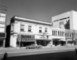 1300 block of Main, Marks, Plaza III Theatre, Freed's visible