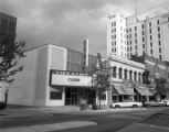 1200 block of Main, Miracle Theatre, Capitol Loan Office, Capitol Cafe, and Columbia building...