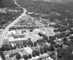 Dreher High School, aerial showing area of the Paul Redfern airfield