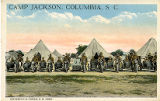 Camp Jackson, Columbia, S.C. Motorcycle Corps, U. S. Army.