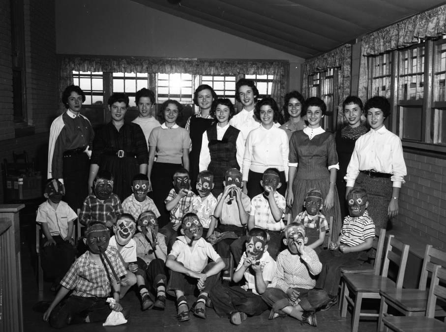 B'nai B'rith Girls at Carolina Children's Home  - The State