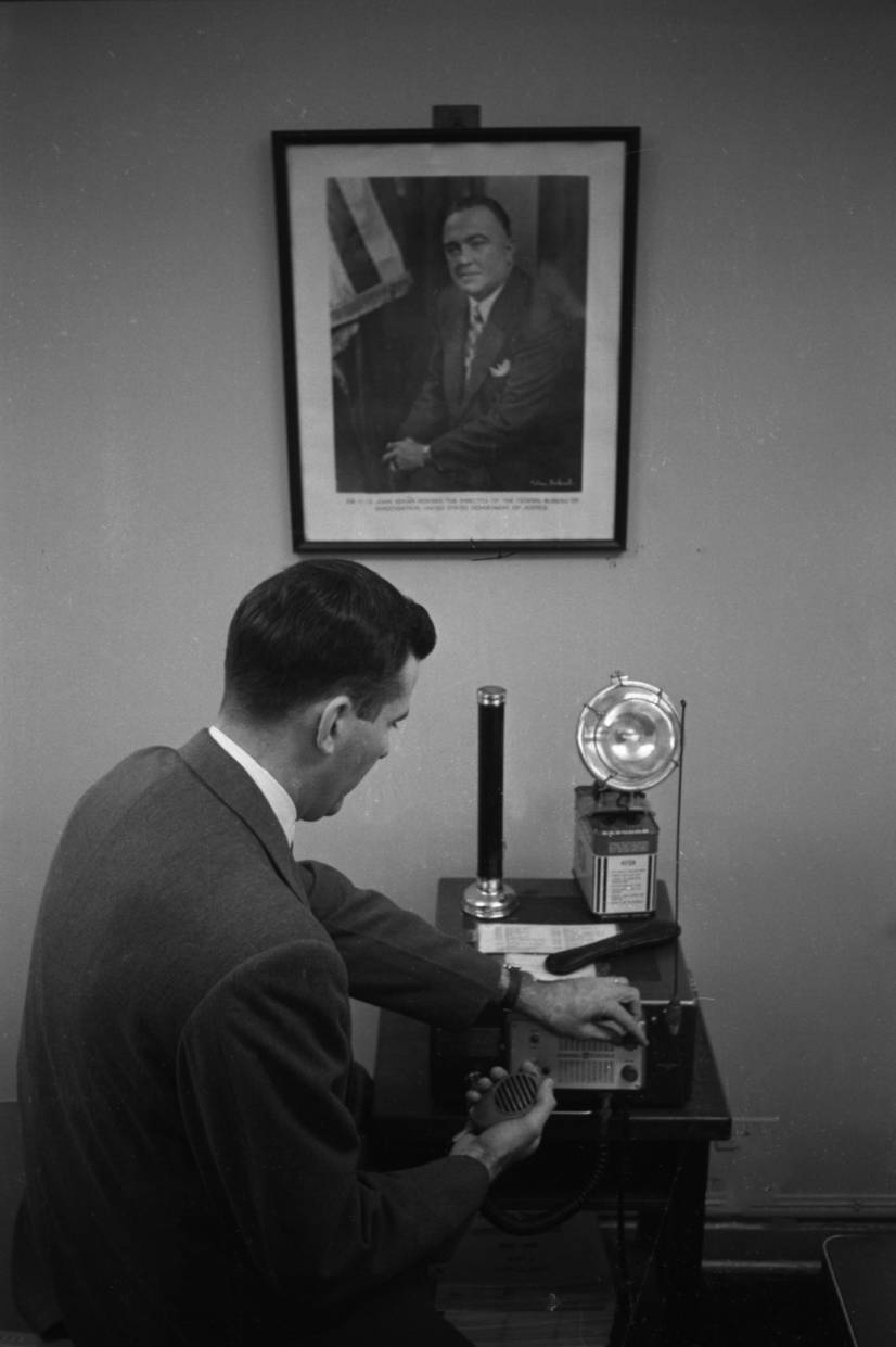 FBI Agent in Columbia - The State Newspaper Photograph